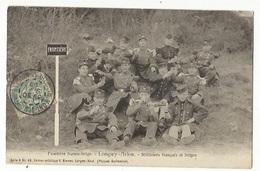 CPA,Th. Douane , N°48 ,Frontière Franco-Belge, Longwy-Arlon , Miitaires Français Et Belge Ed. V. Kremer 1905 - Douane
