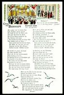"""Judaika Deutsches Reich Insel Borkum ~1898 """" Propagandakarte Gegen Juden (oben Rechts) """" Juif Jew Judaica - Jewish"""