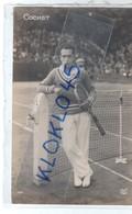 Tennis - JEUX OLYMPIQUES DE 1924 - COCHET Henri Posant Pour La Photo Francais - CPA AN PARIS N° 181 - Tennis