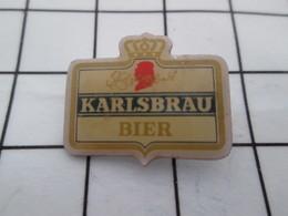 1216c Pin's Pins / Belle Qualité Et TB état !!!! : THEME : BIERES / BIERE KARLSBRAU - Bière