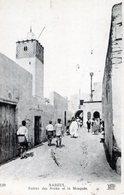 TUNISIE   NABEUL  ENTREE DES SOUKS ET LA MOSQUEE - Tunisia