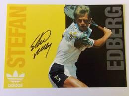 Stefan EDBERG - Signé / Hand Signed / Dédicace Authentique / Autographe - Tennis