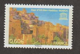 Service  - 2007  -  N°138 -  UNESCO   Ksar D'Aït - Ben - Haddou     - Neuf  Sans Charnière - - Ungebraucht
