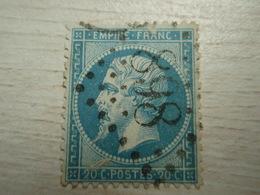 Timbre Empire Franc - Tellier = 22 - 898 - 1862 Napoléon III