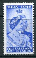 Falkland Islands 1948 Royal Silver Wedding - 2½d Value Used (SG 166) - Falklandinseln