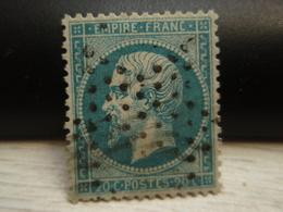 Timbre Empire Franc - Tellier = 22 - - 1862 Napoleon III