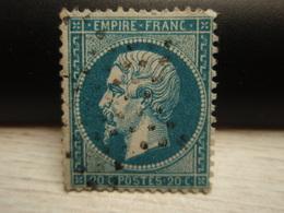 Timbre Empire Franc - Tellier = 22 - - 1862 Napoléon III
