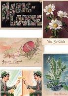 DIVERS THEMES(voir Description) VARIOUS TOPIC. LOT 500 CPA-CPSM Petits Formats/500 OLD POSTCARDS Small Size -(1900/1960) - Cartes Postales
