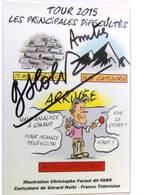 Gérard HOLTZ - Signé / Hand Signed / Dédicace Authentique / Autographe - Andere Beroemde Personen
