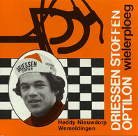 CARTE CYCLISME HEDDY NIEUWDORP TEAM DRIESSEN 1978 FORMAT 8 X 7,5 - Cyclisme