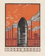 Obus Usine Illustration De LEVEN LEMONIER 1915 - 1914-18