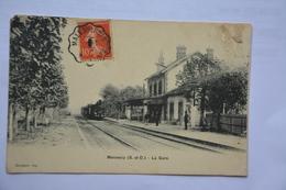 MENNECY-la Gare-(etat MAUVAIS-decollement Coin Haut Droit) - Other Municipalities