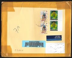 Singapore/Singapour: Raccomandata, Registered, Recommandè - Singapore (1959-...)
