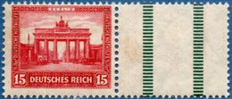 Germany Nothilfe 1930 15 Pf With Separation Field Right From Booklet Sheet MH 2005.1125 - Unused Stamps