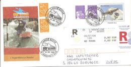 2006 Championnats D'Europe De Canoë-Kayak Slalom: L'Argentière La Bessée.:entier-postal Recommandé - Canoë