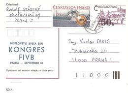 1986 Congrès De La Fédération Internationale De Volley Ball: Prague(6 /09/1986) - Volley-Ball