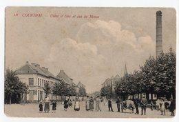 Kortrijk Courtrai Usine à Gaz Et Rue De Menin - Kortrijk