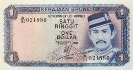 Brunei 1 Ringgit, P-6c (1985) - UNC - Brunei