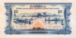 Laos 100 Kip, P-23 (1968) - UNC - Myanmar