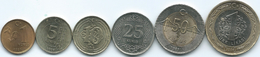 Turkey - New Lira - 1, 5, 10, 25 & 50 Kurus; 1 Lira (KMs 1239-1244) - Turquia