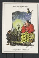 CP Des Auvergnades De Jean Anglade Illustré Par Jacky Poinçon - Ambert