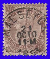 "COB N° 61 - Oblitération CONCOURS ""MASEYCK"" - 1893-1900 Schmaler Bart"