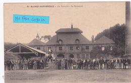 76- BLANGY SUR BRESLE- La  VERRERIE- Le Personnel-Edit. DEWESSE Tabac, BLANGY- - (11/5/20) - Blangy-sur-Bresle