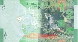 Kuwait P.30 1/2 Dinar 2014  Unc - Kuwait