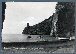 °°° Cartolina - Praiano Torre Saracena Con Marina Praia Viaggiata °°° - Salerno