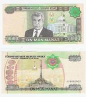 Turkmenistan  P. 22  10000 Manat 2005 AD 8892002 UNC - Turkmenistan