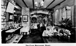 (146)  CP. The Crypt Restaurant Dover (Bon Etat) - Angleterre