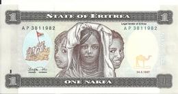 ERYTHREE 1 NAFKA 1997 UNC P 1 - Eritrea