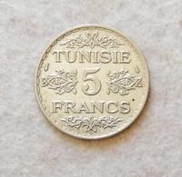 Tunisia 5 Fr. 1934-36 - Tunisia