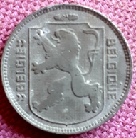 BELGIE/BELGIQUE : 1 FRANK  1942 FL/ FR KM 128 XF+ - 1934-1945: Leopoldo III