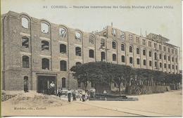CORBEIL  Nouvelles Constructions Des Grands Moulins (27 Juillet 1905) - Corbeil Essonnes