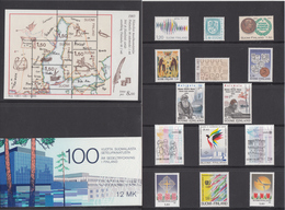 Finland 1985 - Stamps From Official Year Pack MNH ** - Ganze Jahrgänge