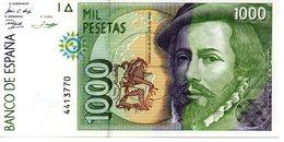 Billete De 1000 Pesetas Año 1992 - [ 4] 1975-… : Juan Carlos I