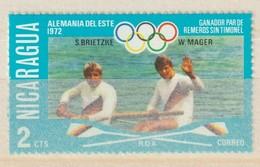 NICARAGUA - 1976 -  MI Nr. 1949  Of  Y&T Nr. 1052  - Olympische Medailles -  Ongestempeld - ** - Nicaragua