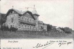TROIS-PONTS - Château Du Petit Spay - Nels, Série 20, N° 58 - Oblitération De 1905 - Trois-Ponts