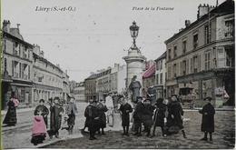 LIVRY  Place De La Fontaine (carte Colorisée) - Livry Gargan
