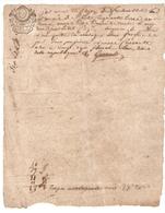 Papier Timbré De Dimension De L'arrêté Du 25 Avril 1793 - Revenue Stamps
