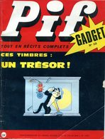 Pif Gadget N°115 - Loup-Noir - L'Egarée (BD De JC Forest Se Déroulant En 4880) - Pif Gadget