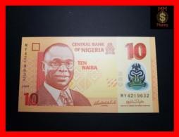 NIGERIA 10 Naira  2009  P. 39 POLYMER  UNC - Nigeria