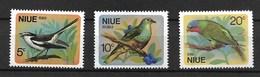 NIUE 1971  BIRDS MNH - Autres