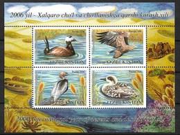 UZBEKISTAN 2006  BIRDS, DUCKS MNH - Patos