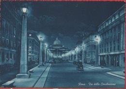 Roma. Via Della Conciliazione E S. Pietro. Non Viaggiata - San Pietro