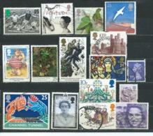 UK001 Piccolo Lotto  15 Valori Usato - 1952-.... (Elisabeth II.)