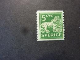 SUEDE, Année 1920-24, YT N° 123 Neuf MH*, Cote 11 EUR - Ongebruikt