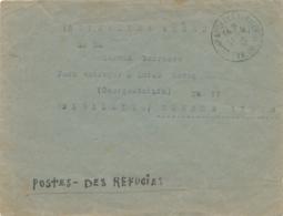 Lettre Du Camp D' ARGELES - REFUGIES ESPAGNOLS > BUENOS AYRES ARGENTINA - Internés Civils - Concentration WW2 Prisoner - WW2
