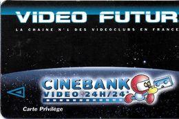 VIDÉO FUTUR CARTE ABONNEMENT CARTE PRIVILÈGE L'AUTRE IMAGE+ CINEBANK - Subscription